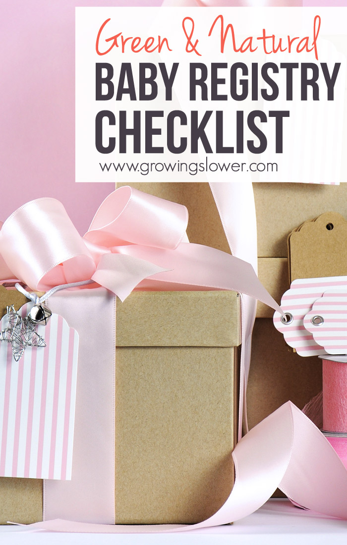 Green Baby Registry  Natural Baby Registry Checklist