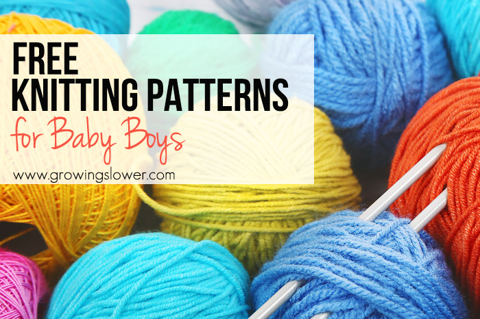 12 Free Baby Knitting Patterns