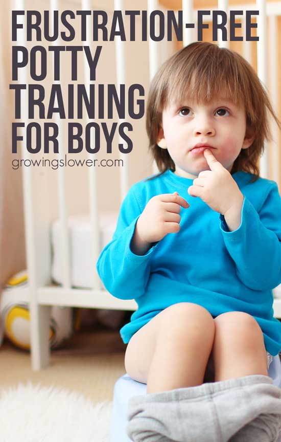 Potty training+afraid of peeing in the potty