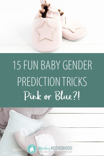 Pink or Blue? Here are 15 fun tricks to find out gender of baby. You could turn this into a super cute baby gender reveal party idea or baby shower game. Quiz the pregnant mama on each of these 15 details about her pregnancy, then tally up the answers to predict whether baby is a boy or girl.