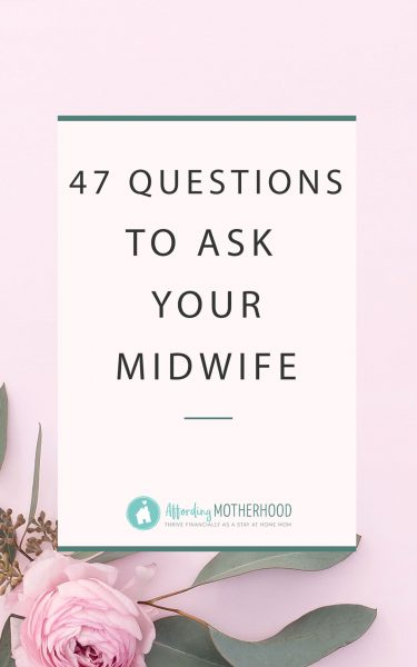 Don't choose a midwife or OB without asking them these 47 questions first! #naturalbirth #freeprintable