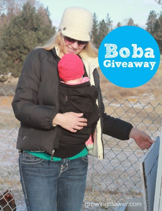 Boba Carrier 4G Review and Giveaway