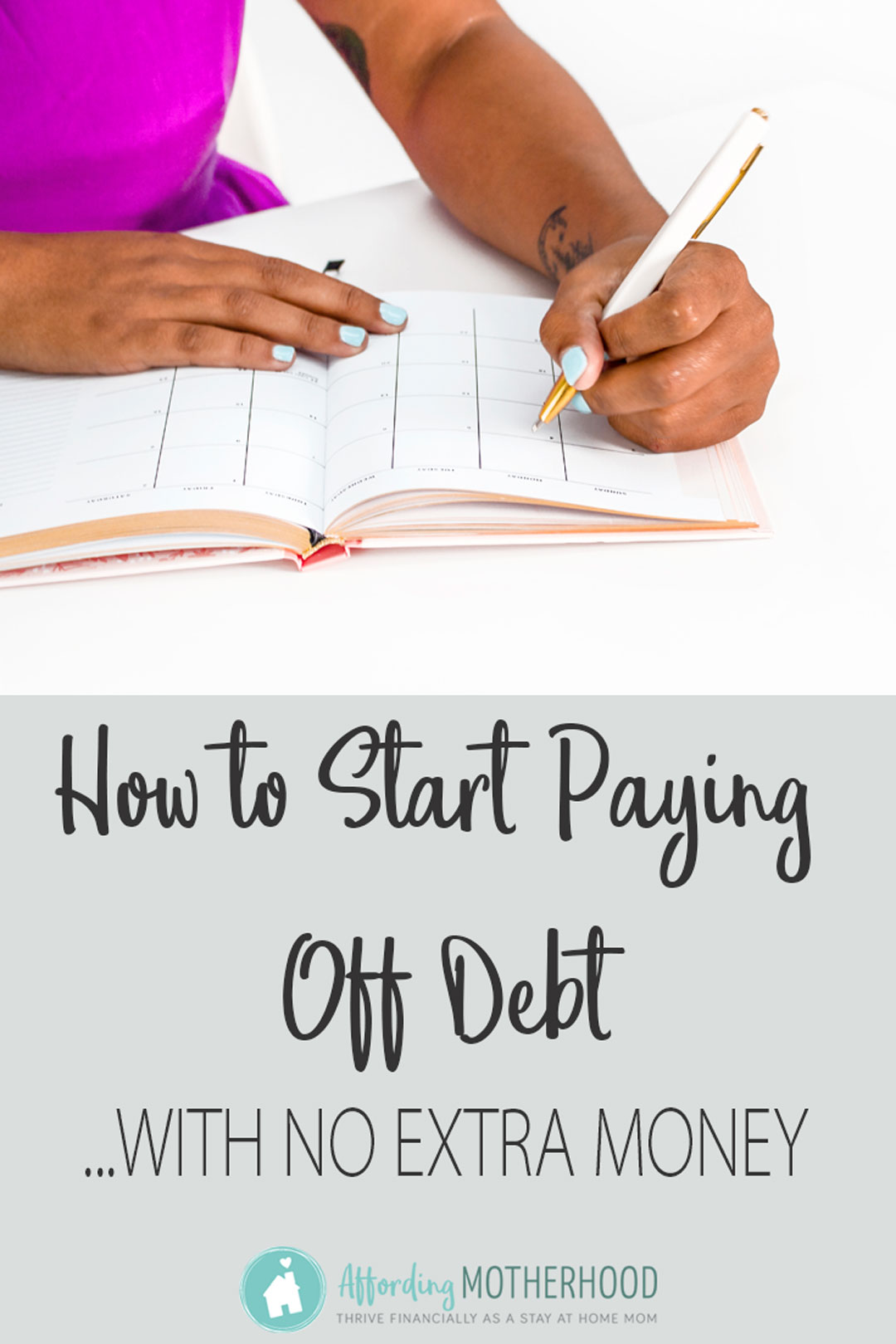 Even if you think you can't make a dent in your debt, try this simple tip to start paying off debt fast.
