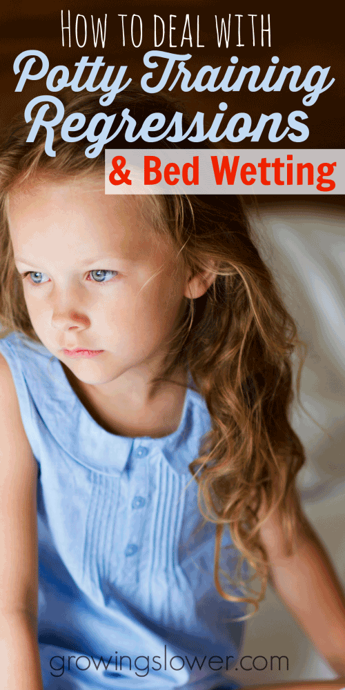 The best way to deal with potty training regressions and get your happy,confident, potty trained child back fast.