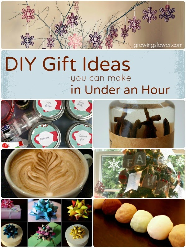 140 Easy DIY Gift Ideas in Under One Hour