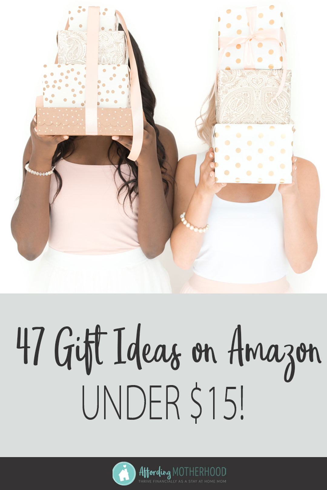 47 Frugal Amazon Gift Ideas - Avoid the crowds and save money with these fun Amazon gifts for the men, women, girls, and guys on your Christmas list this holiday season! Plus every product listed is eligible for free shipping and is under $15! Finish off your Christmas shopping with these easy gift ideas and stocking stuffers for him, for her, and for the kids.
