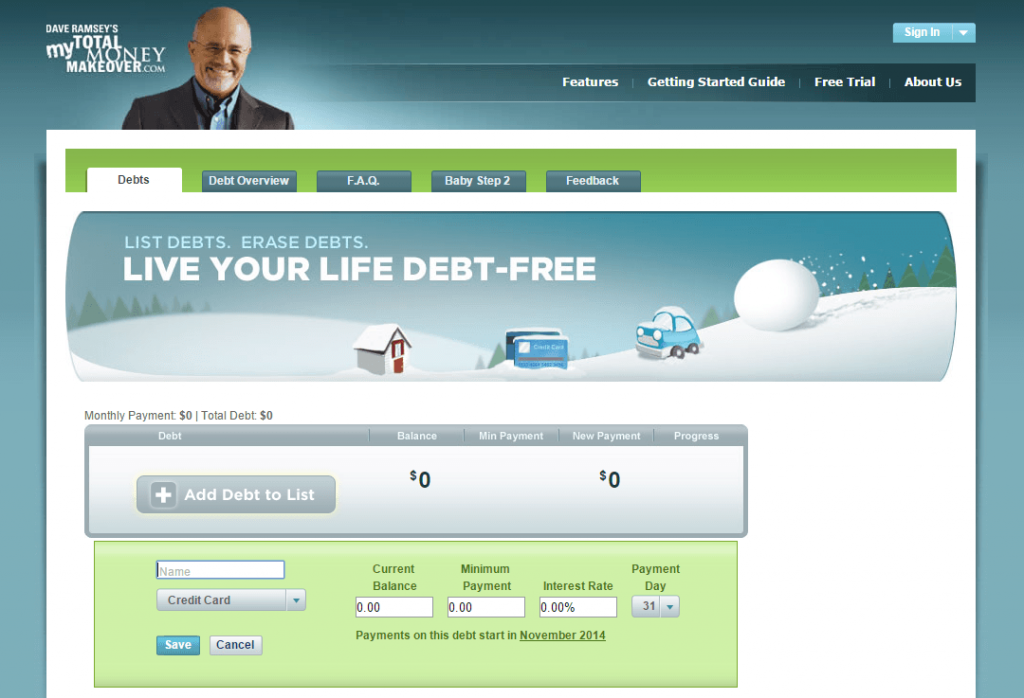 Here's how to be debt free faster using the Dave Ramsey debt snowball. This debt snowball example video and tutorial will show you how even small changes to your budget can help you reach your debt payoff goal to be debt free months or even years faster.