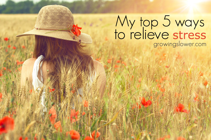 My Top 5 Stress Management Tips for Moms