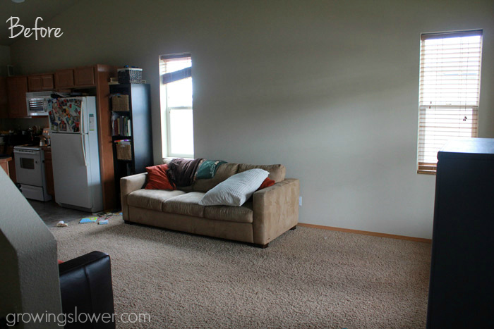 Budget Living Room Makeover Before And After How To - How to decorate a living room on a budget