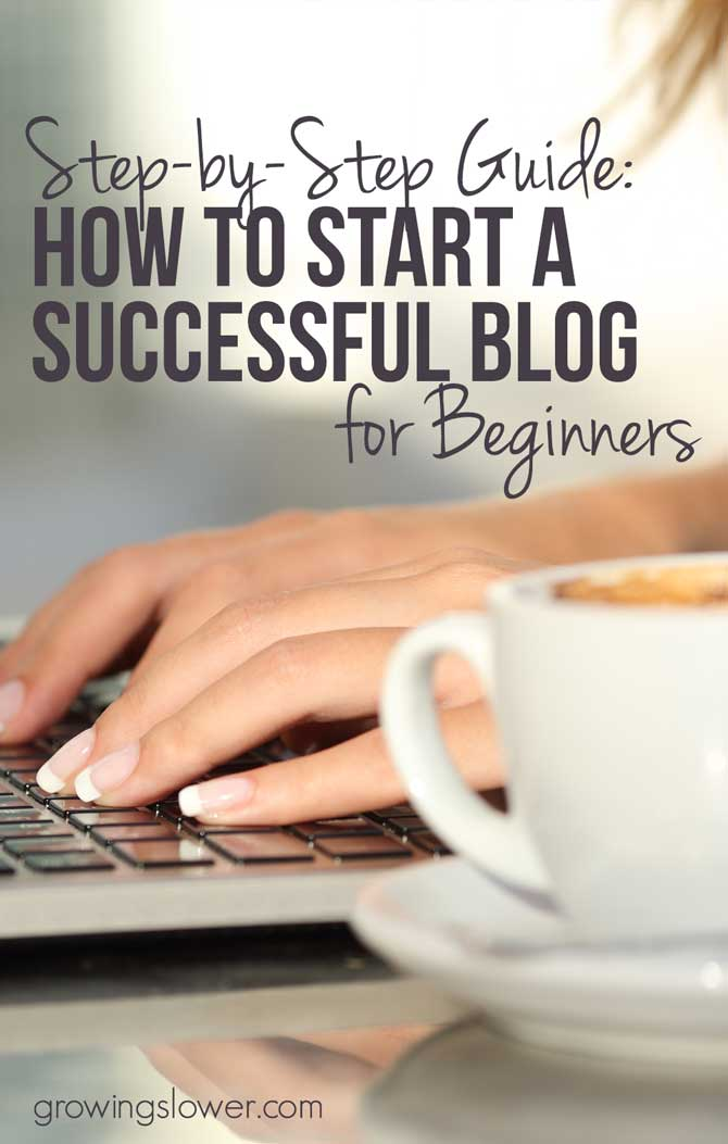 It isn't just a matter of sitting down at your laptop and writing. There's a right way to start a blog if you want it to be a success. The good news is this tutorial will show you exactly how to do it, and it's easy!