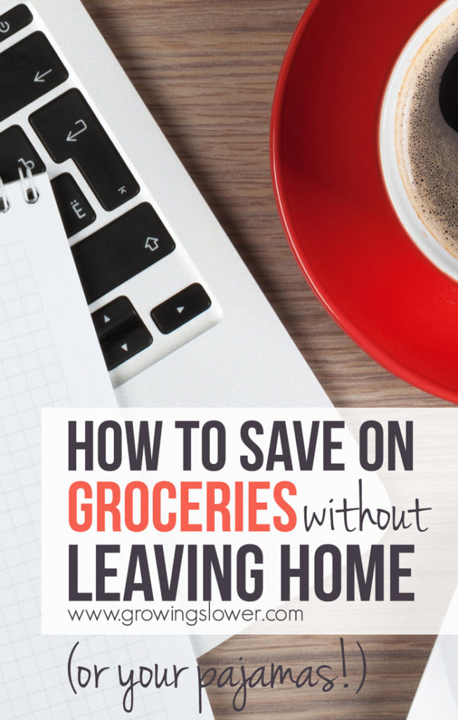 Have you tried online grocery shopping? There's so much more than just Amazon out there! This is the first part in my online grocery savings guide where I'm sharing 5 surprising ways online grocery shopping saves both time and money. After this you'll be ready to ditch the grocery store for good!