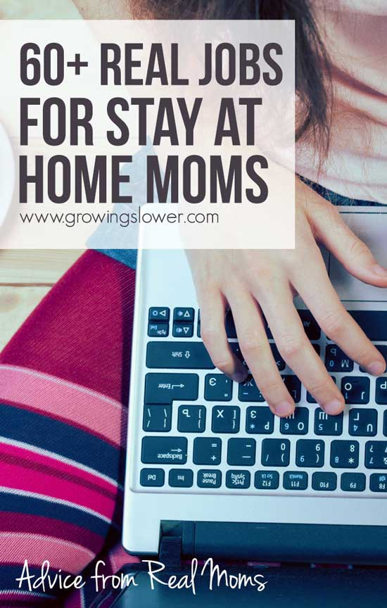60+ Jobs For Stay At Home Moms - Work From Home Jobs