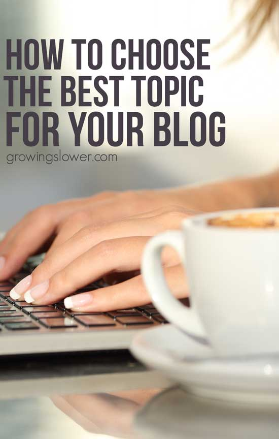 So you're thinking about starting a blog, but now you're wondering what to blog about to make money and be successful? These 14 questions will walk you through how to choose a blog topic that's perfect for you.