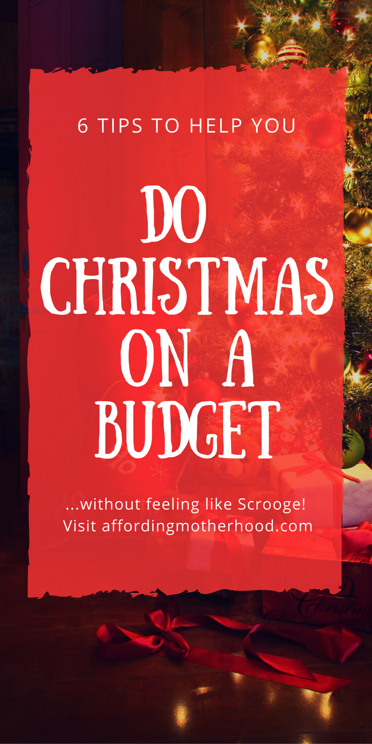 How to do Christmas on a Budget without Feeling Like Scrooge - Try these tips to help you stick to your Christmas budget without the guilt of feeling as cheap as Scrooge, or the stress of overspending. You can still find meaningful gift ideas for the people (especially the kids) on your list. Make this a magical Christmas for your family, and still come through it debt free with these tips for managing expectations at Christmas. Let's get started!