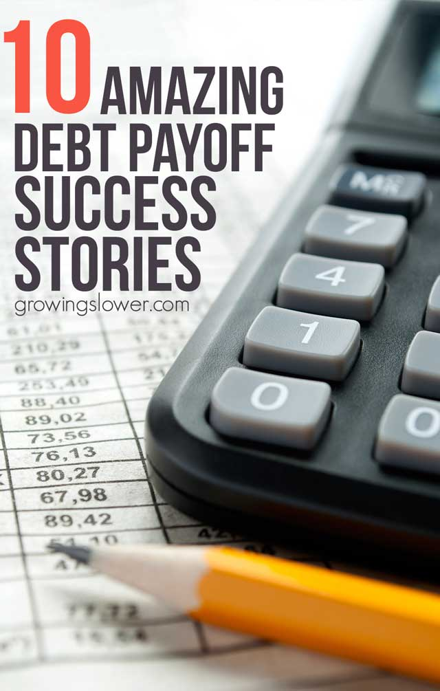 10 Amazing Getting Out of Debt Stories to Inspire You - These debt payoff stories of ordinary people will inspire your own debt free success story. They share all their best advice for frugal living, earning extra money, and staying motivated with their debt snowball. With tips and strategies to help jump start your own journey to financial freedom!