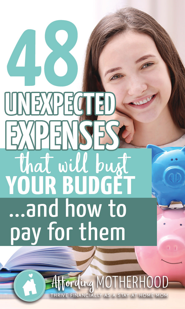 Be sure to budget for these 48 unexpected expenses.