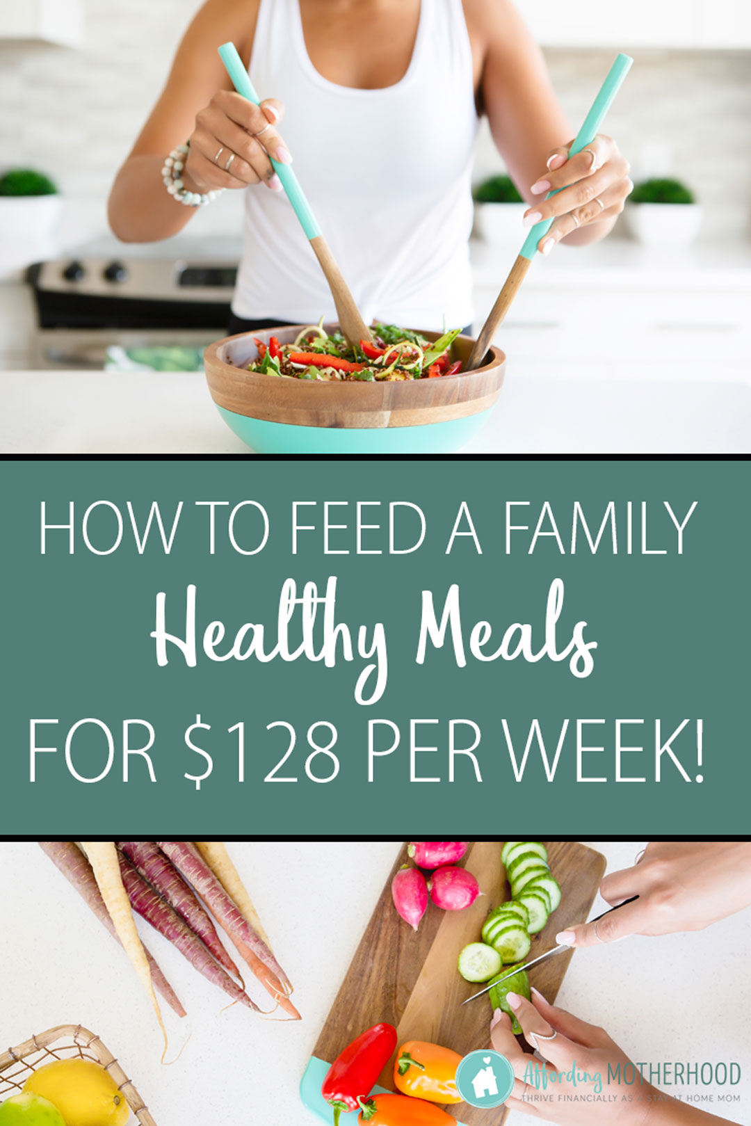 Budget Grocery List - How to Feed a Family Healthy Meals on