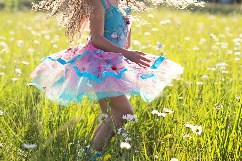 When you stop overspending, you'll be dancing like a child in a field full of daisies.