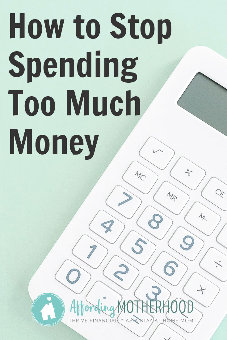 How to Stop Spending Too Much Money - Calculator
