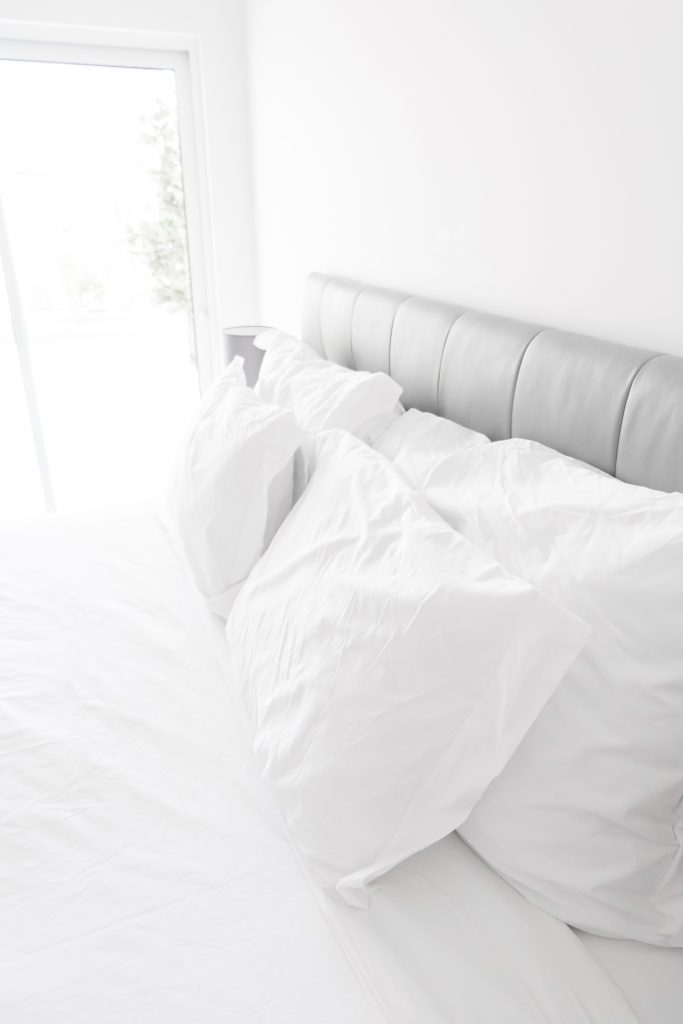 My SAHM morning routine starts with making the bed. It helps me get the day started right and stay productive throughout the day.